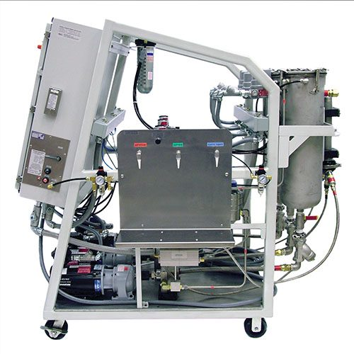 MM3P - 3 Part Meter Mix System for Continuous Flow Mixing of 3 Components